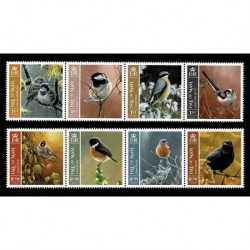 2019 Isle of Man tematica Uccelli serie MNH/**