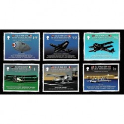 2019 Isle of Man voli transatlantici serie MNH/**