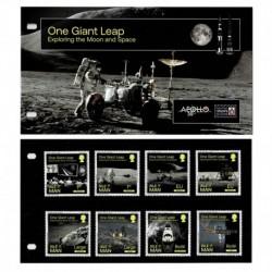 2020 Isle of Man Esplorazione della Luna e Spazio presentation pack