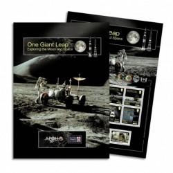 2020 Isle of Man Esplorazione della Luna e Spazio Folder