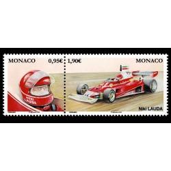 2020 Monaco Leggendari Piloti Formula1 Niki Lauda - MNH/**