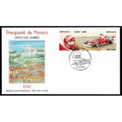 2020 Monaco Leggendari Piloti Formula1 Niki Lauda - FDC