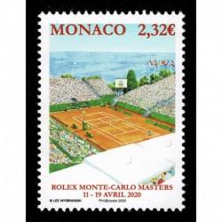 2020 Monaco Tennis Rolex Monte Carlos Masters MNH/**