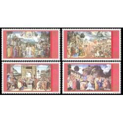 2001 Vaticano - La cappella Sistina restaurata