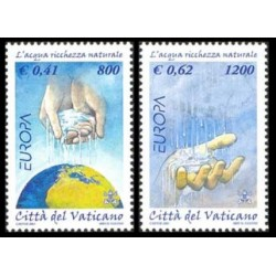 2001 Vaticano - Emissione Europa