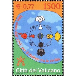 2001 Vaticano - Anno dell'ONU