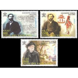 2001 Vaticano - Anniversario di Giuseppe Verdi