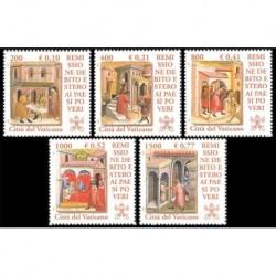 2001 Vaticano - Remissione debito estero paesi poveri