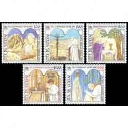2001 Vaticano - Pellegrinaggi giubilari del Papa