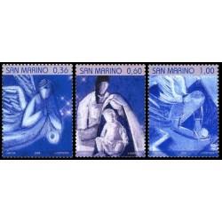 2008 San Marino - serie tematica Natale
