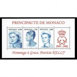 2004 Monaco Principezza Grace Kelly foglietto MNH/**