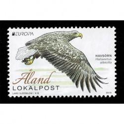 2019 Aland emissione Europa - tematica Uccelli