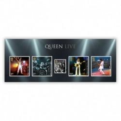 2020 Gran Bretagna Francobolli per celebrare i Queen il Foglietto