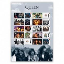 2020 Gran Bretagna Francobolli per celebrare i Queen Smiler Album