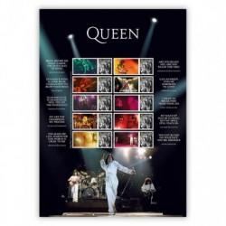 2020 Gran Bretagna Francobolli per celebrare i Queen Smiler Live