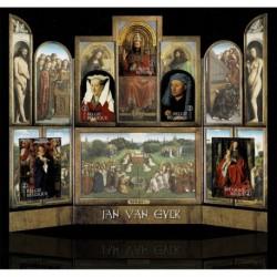 2020 Belgio le opere di Jan Van Eyck - foglietto sagomato