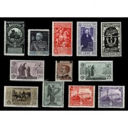 Regno insieme di francobolli nuovo con gomma integra MNH/** (Cat.80€)