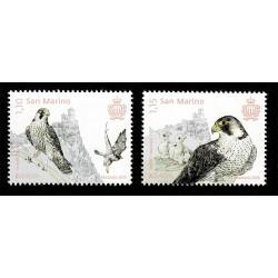 2019 San Marino Emissione Europa tematica Uccelli serie