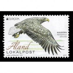 2019 Aland Emissione Europa tematica Uccelli serie