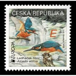 2019 Repubblica Ceca Emissione Europa tematica Uccelli serie