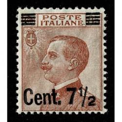 1923 Francobolli Michetti sovrastampati Sas.135 MNH/**
