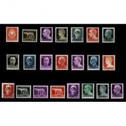 1929 Regno serie Imperiale completa MNH/** 22 val