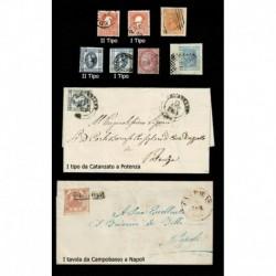 Lotto misto Regno & Antichi Stati - Storia Postale - Litografici