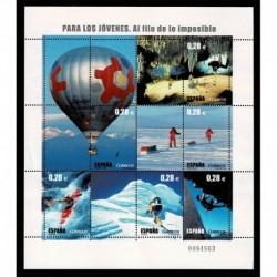 2005 Spagna Francobolli per la gioventù - 1° serie sport