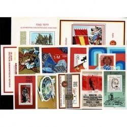 Lotto foglietti DDR Repubblica Democratica Tedesca - nuovi MNH/**