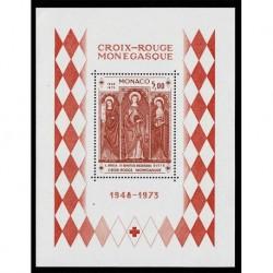 1973 Monaco Foglietto Croce Rossa - MNH/**