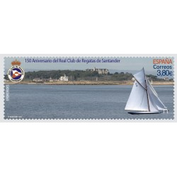 2020 Spagna royal yacht club Santander unusual lenticolare 3D