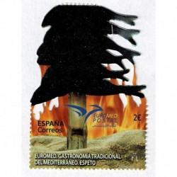 2020 Spagna EUROMED fustellato unusual stamps