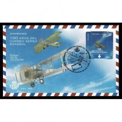 2020 Spagna FDC centenario posta aerea unusual stamps