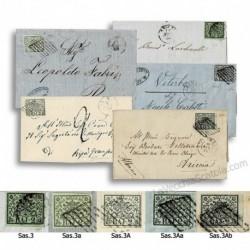 ASI Pontificio - collezione 2 Baj tutte le tinte su lettera