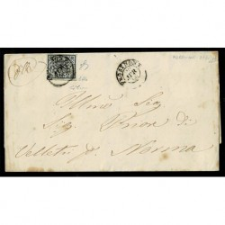 1866 Pontificio 2Baj Sas.3Ab grigio azzurrastro Frosinone Velletri
