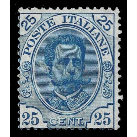 1891 Regno Umberto I 25cent Sas.62 nuovo MH/*