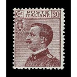 1926 Regno 20cent Sas.204 tipo Michetti nuovo MNH/**