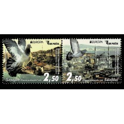 2020 Bosnia Herzegovina Sarajevo Antichi itinerari postali - Europa