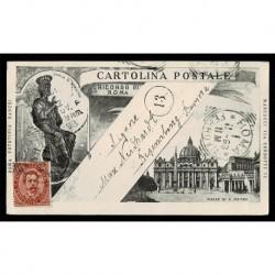 1894 Cartolina FP BN Ediz. Danesi San Pietro per Ratisbona
