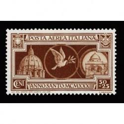 1933 Regno Anno Santo Posta Aerea Sas.A54 nuovo MNH/**
