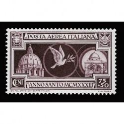 1933 Regno Anno Santo Posta Aerea Sas.A55 nuovo MH/*