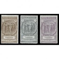 1923 Regno Cassa Previdenza Camicie Nere serie nuova MH/*