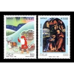 1999 Repubblica emissione tematica Natale