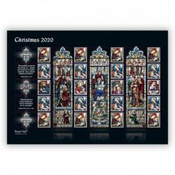 2020 Gran Bretagna smiler Natale - Vetrate St Mary, Norfolk