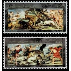2020 Liechtenstein Pittura Scene di Caccia di Rubens