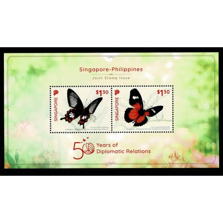 2019 Singapore congiunta Filippine (Joint Iusse) Farfalle