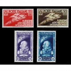 1935 Regno Salone Aeronautico Internazionale serie nuova MH/*