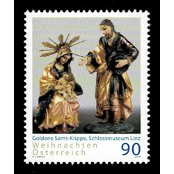 2019 Austria francobollo per il Natale religioso