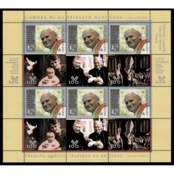 2020 Vaticano Congiunta (Joint Iusse) Polonia San Giovanni Paolo II