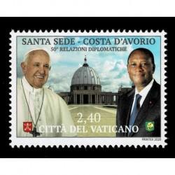 2020 Vaticano Congiunta (Joint Iusse) Costa d'Avorio serie